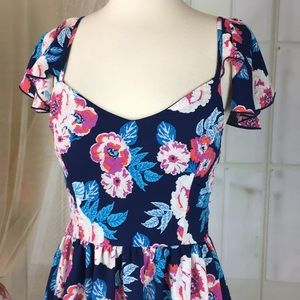 Charlotte Russe Dresses - Charlotte Russe Floral Summer Dress